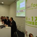 conferenza stampa presentazione Cosmofood 2015