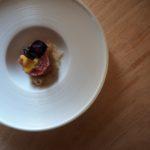 Carpaccio di finocchietto con tartare di tonno