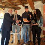 Gigi Costa e Gianni Tessari premiano Al Cjasal