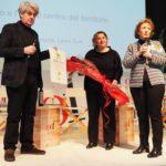 luigi Caricato, Sabrina Tremonte (sindaco di Cavaion Veronese) e Laura Turri (Vicepresidente del Consorzio)