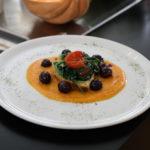 Pancotto con cime di rapa e olive dolci