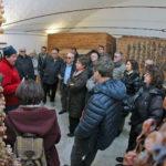 BREGANZE Prima Torcolato edizione 2018 nella foto il fruttaio Tour delle cantine