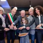 Da sx a dx: Paola Goppion, il sindaco di Preganziol Paolo Galeano, Sergio Goppion, Mario Goppion, Silvia Goppion