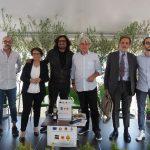 Da sx a dx: Paolo Forelli, Laura Turri, Alessandro Borghese, Luigi Caricato, Gian Maria Varanini, Simone Gottardello