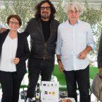 Da sx a dx: Laura Turri, Alessandro Borghese, Luigi Caricato