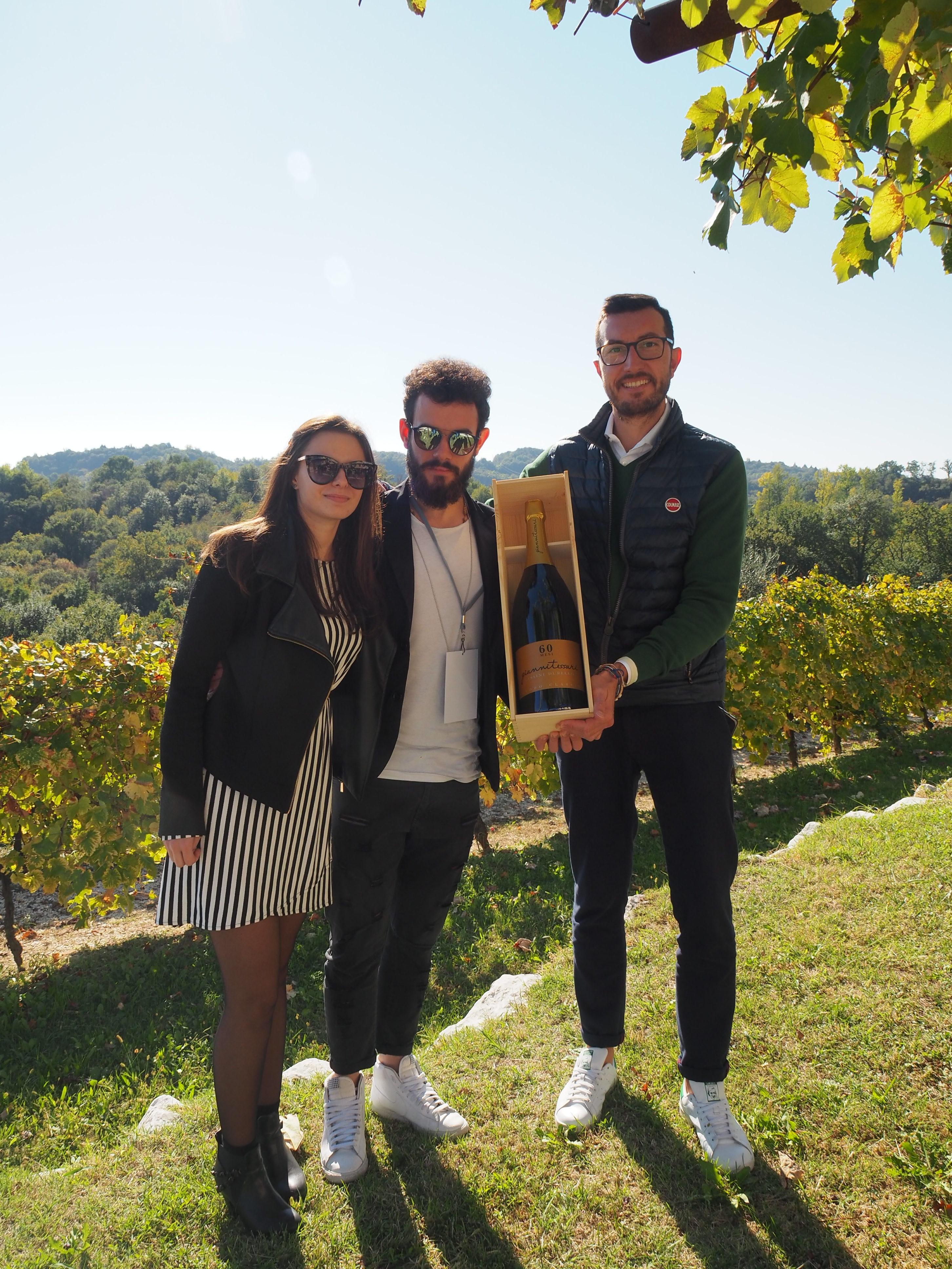 Valeria Tessari, Alessandro Rossi e Matteo Franchetto