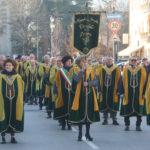 La sfilata della Magnifica Fraglia del Torcolato in occasione de La Prima del Torcolato - Photo Stella