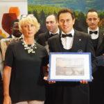 Patrizia Niero (Corte Moschina), Aldo Lorenzoni (Direttore Consorzio Soave) e Marco Casadei