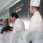 Davide Paolini con Nicola e Mario Fiasconaro