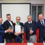 da sx Eugenio Manieri, Franco Cristoforetti, Ivan de Beni, Alessandro Luzzago e Valentino Di Campli